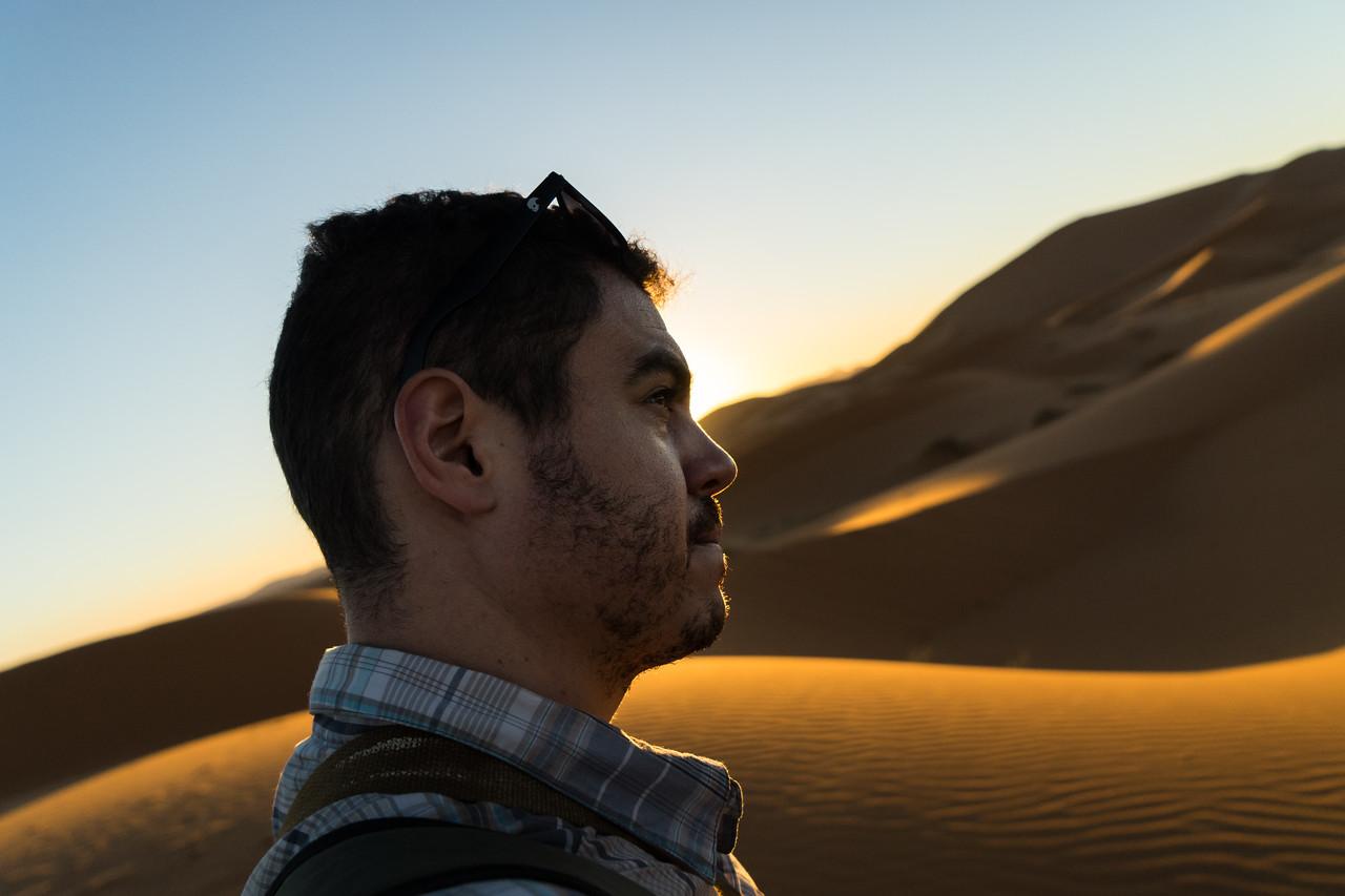 Julian Selfie Sahara Desert