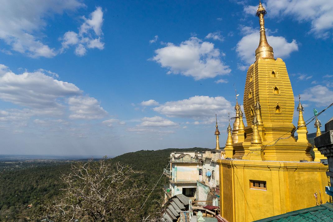 Mount Popa Golden Spire