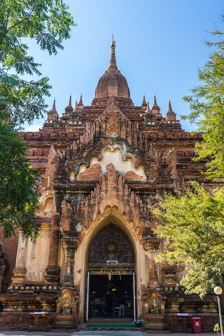 Old Bagan Sulamani Entrance