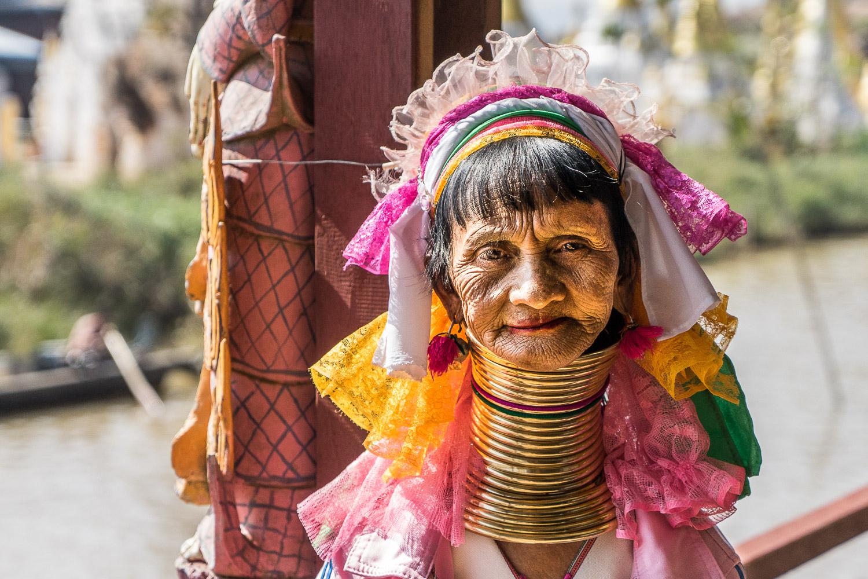 Inle Lake Padaung woman