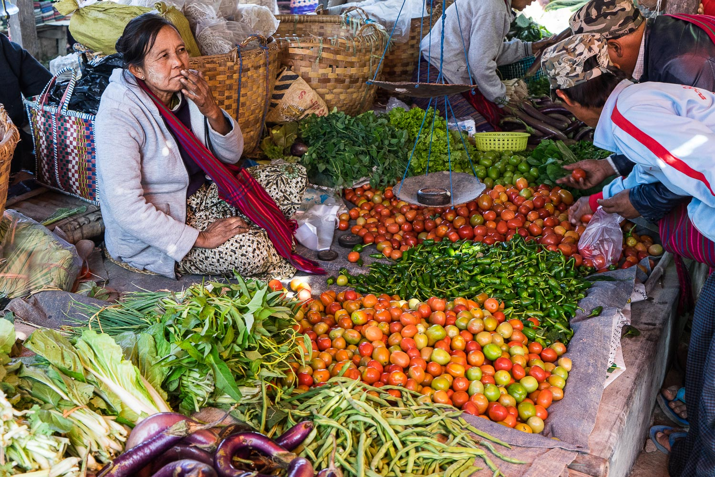 Nam Phan Market Produce