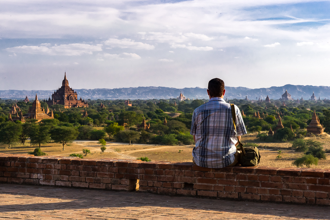 Old Bagan Wide View