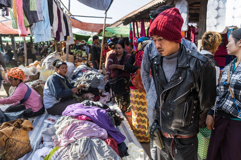 Nam Phan Clothing Stall
