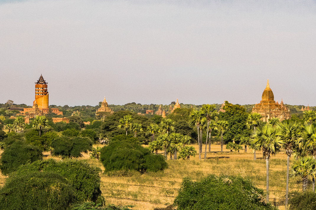 Old Bagan Temple View