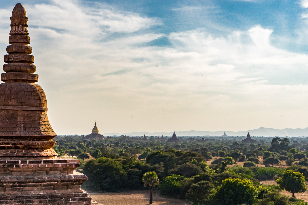 Old Bagan Pyathada View