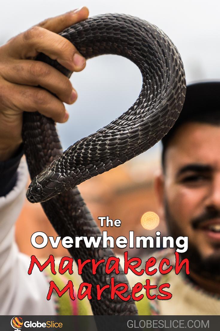 Marrakech Markets Pinterest Pin