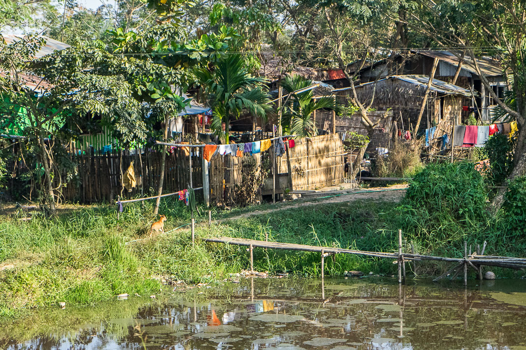 Myanmar Overnight Train Village
