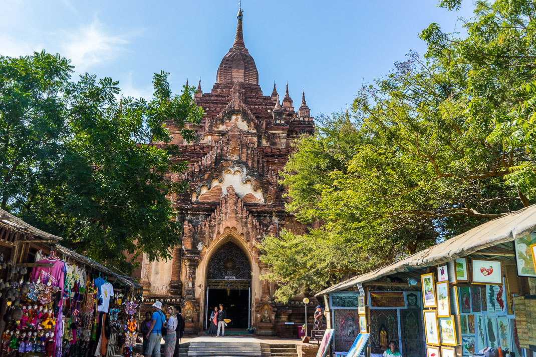 Old Bagan Sulamani Shops