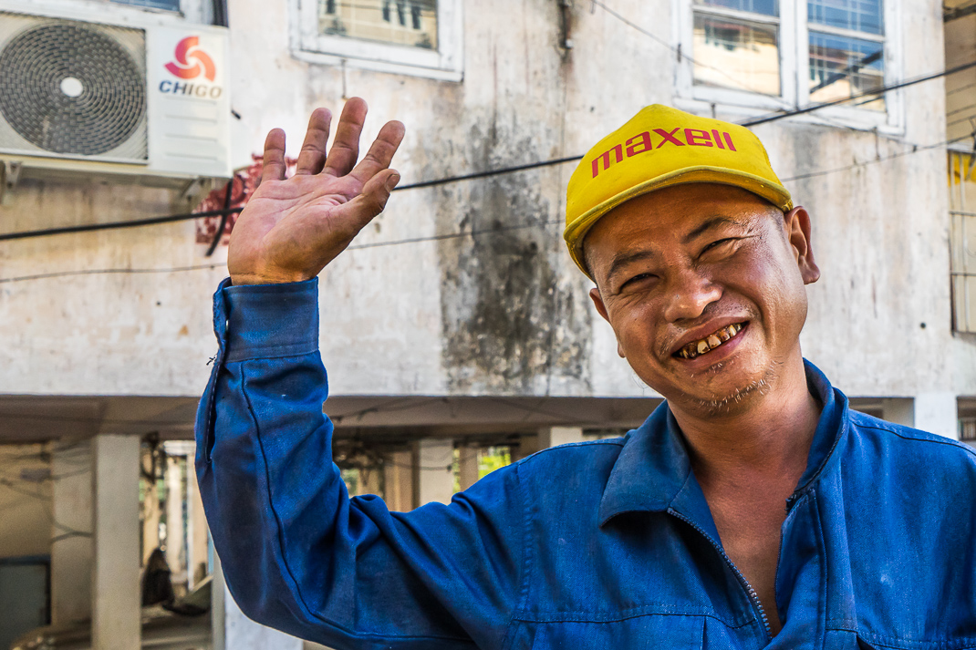 Local Friendly Yangon Man
