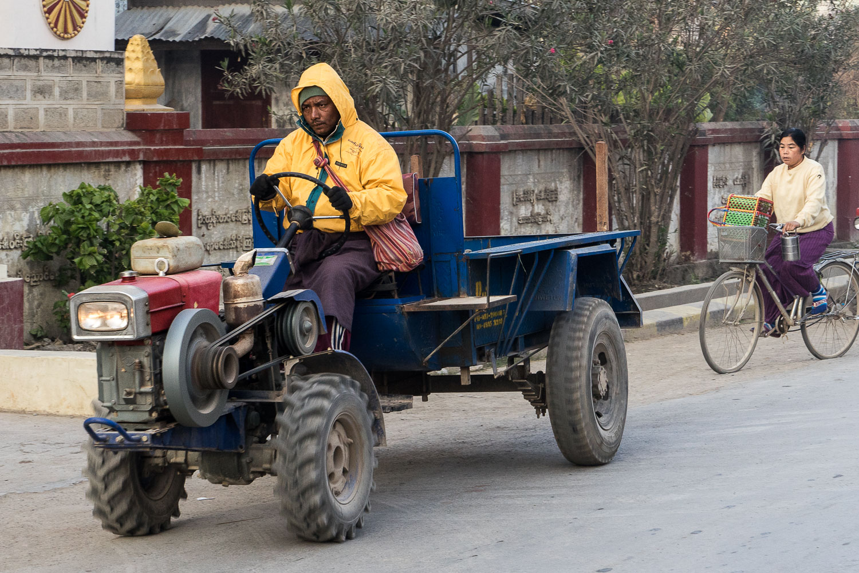 Nyaung Shwe Farmer Tractor
