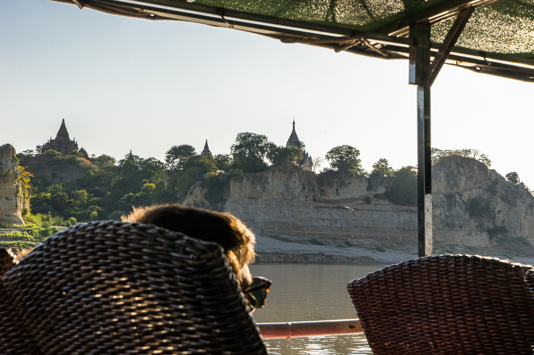 Ferry View of Bagan
