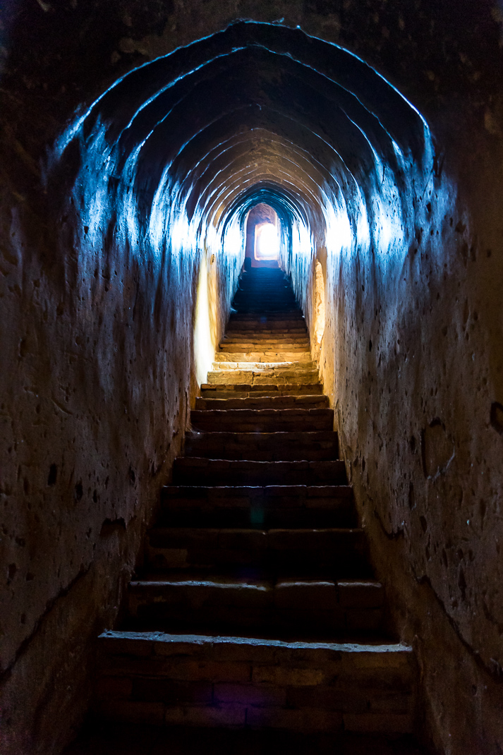 Old Bagan Dark Staircase
