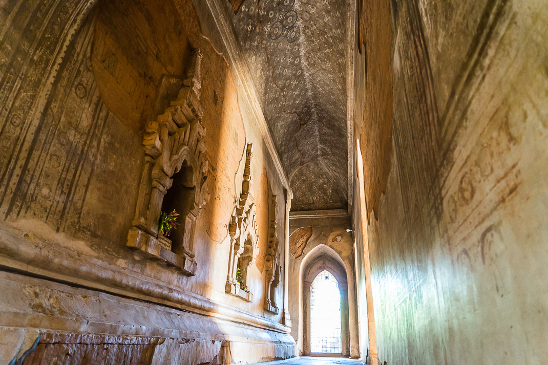 Old Bagan Sulamani Hallway