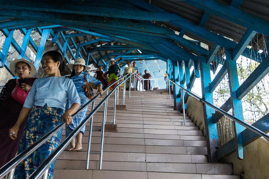 Mount Popa Beginning Stairway