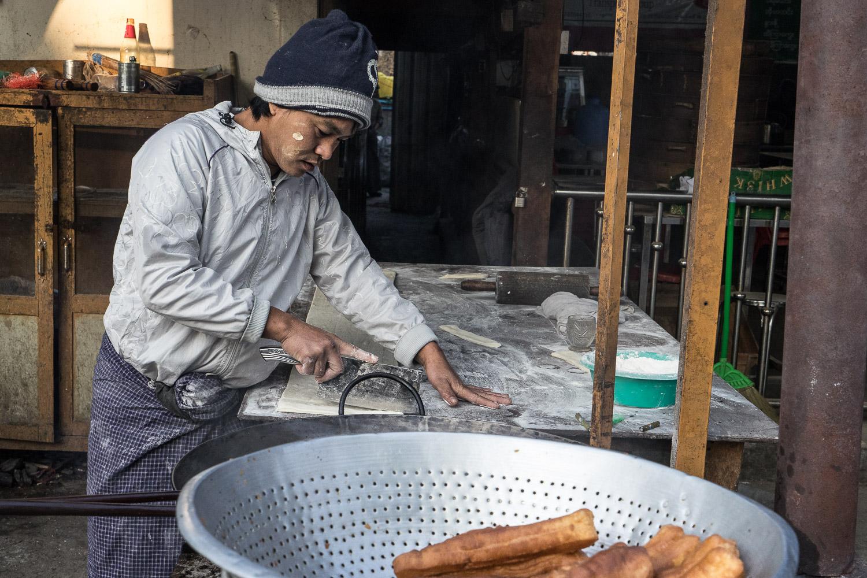 Nyaung Shwe Breakfast Prep