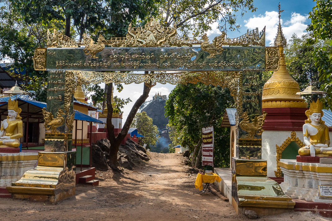 Mount Popa Entrance Archway