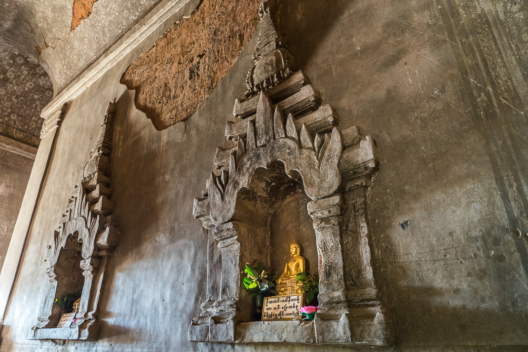 Old Bagan Sulamani Offerings
