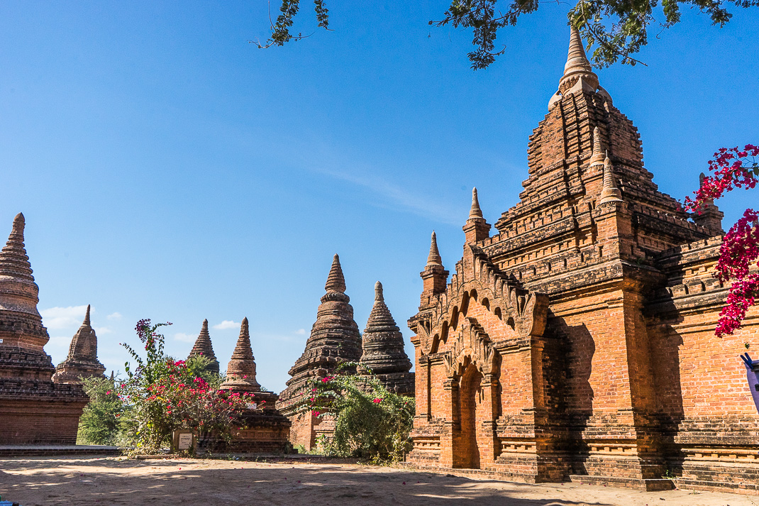 Old Bagan Khay-Min-Gha Temple