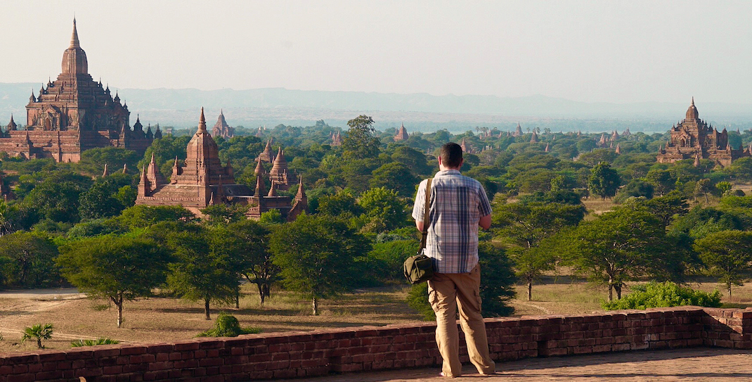 Old Bagan Pyathada Julian View