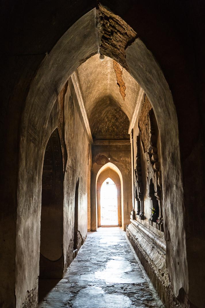 Old Bagan Sulamani Hallway Arch