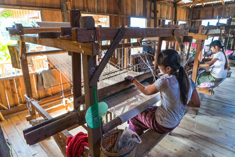 Inle Lake Lotus Weavers