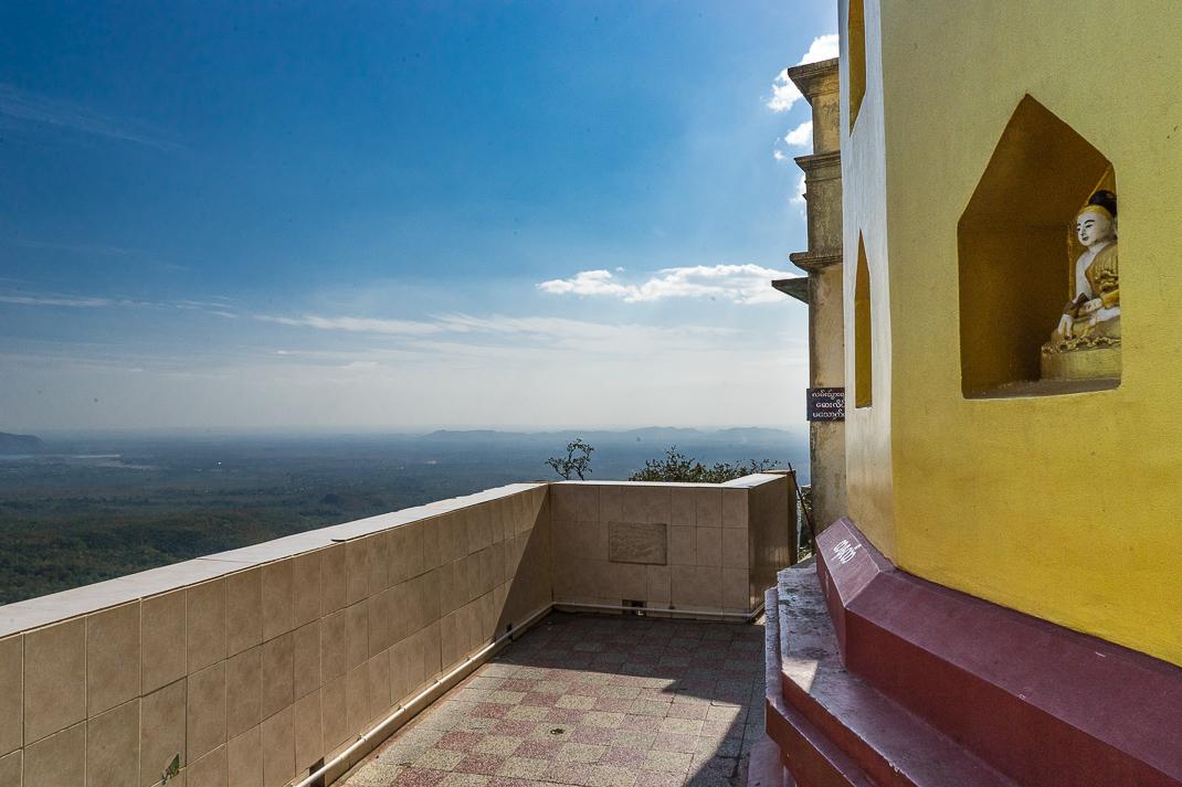 Mount Popa Buddha View