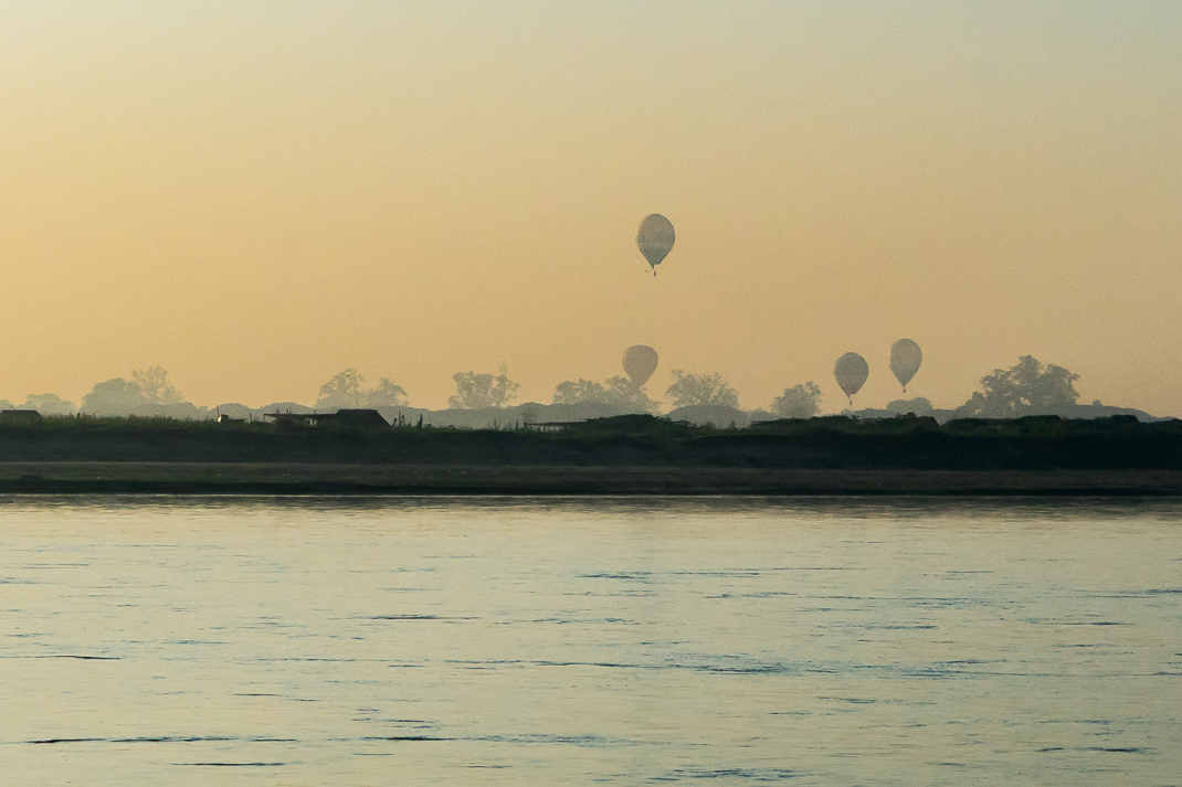 Mandalay Ferry Air Balloons